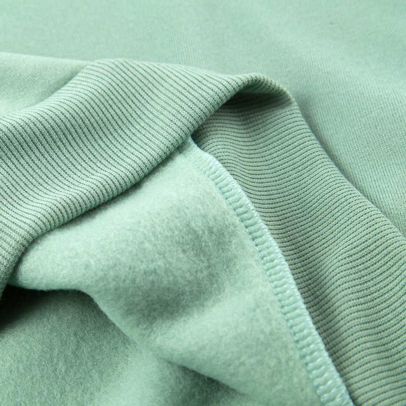 Толстовки женские 2018 бренд женский длинный рукав сплошной цвет толстовка с капюшоном, толстовка милый спортивный костюм пальто повседневная спортивная одежда S-3XL