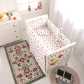 Newborn Crib Bumper Bedding Sets, Bed Linen For Babies, Bumpers Baby Quilt Cover Babys Sheet Baby Crib Sheet Can Be Chosen