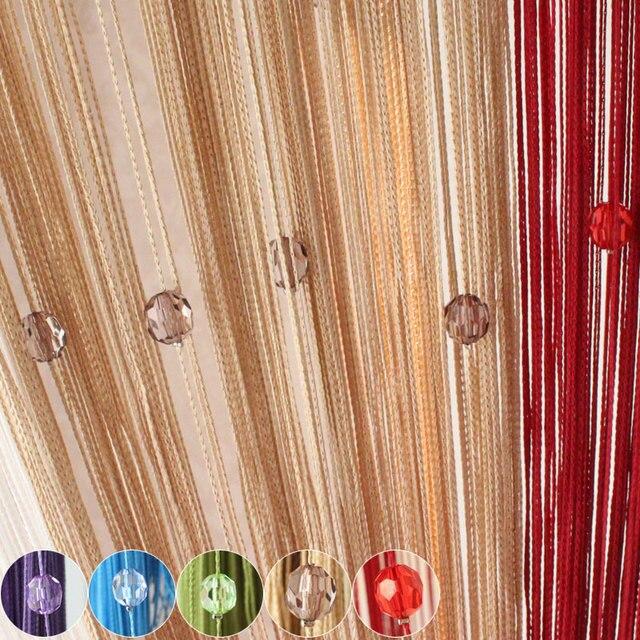 Perlen draht vorhang nachahmung kristall vorhang entranceway anoden ...