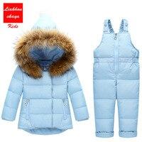 2017 Kids Clothes Autumn Winter Down Jackets For Girls Cartoon Dots Warm Coats Snowsuits Children Outerwear
