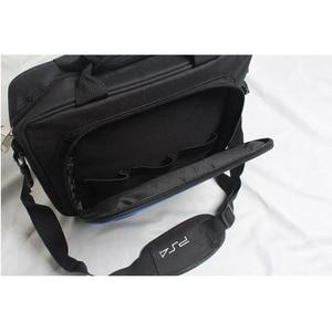 Image 4 - Für PS4/PS4 Pro Schlank Spiel Sytem Tasche Original größe Für PlayStation 4 Konsole Schützen Schulter Tragen Tasche Handtasche leinwand Fall