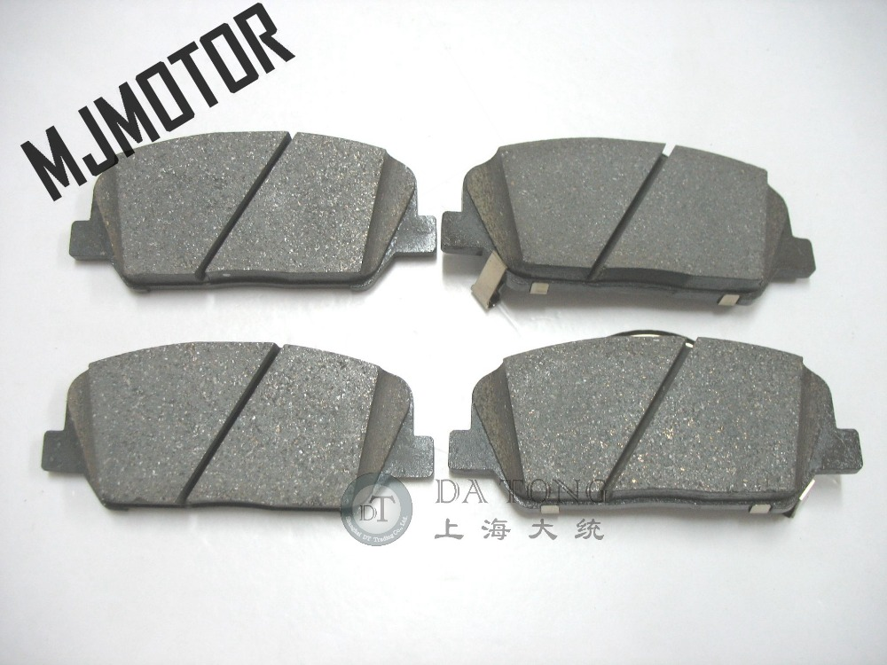 (4pc/set) Front Brake pads set 581012MA00 PAD KIT FR DISC BRAKE for Hyundai Rohens Coupe Automobile part