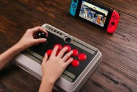 8Bitdo NES30 Arcade Stick For Switch Android Steam Windown