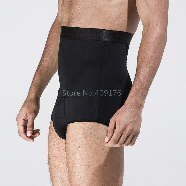 PRAYGER Slimming Belly Control Panties Men High Waist Cinchers Abdomen Body Shapers Tummy Trimmer Butt Lift Shaper Underwear 4