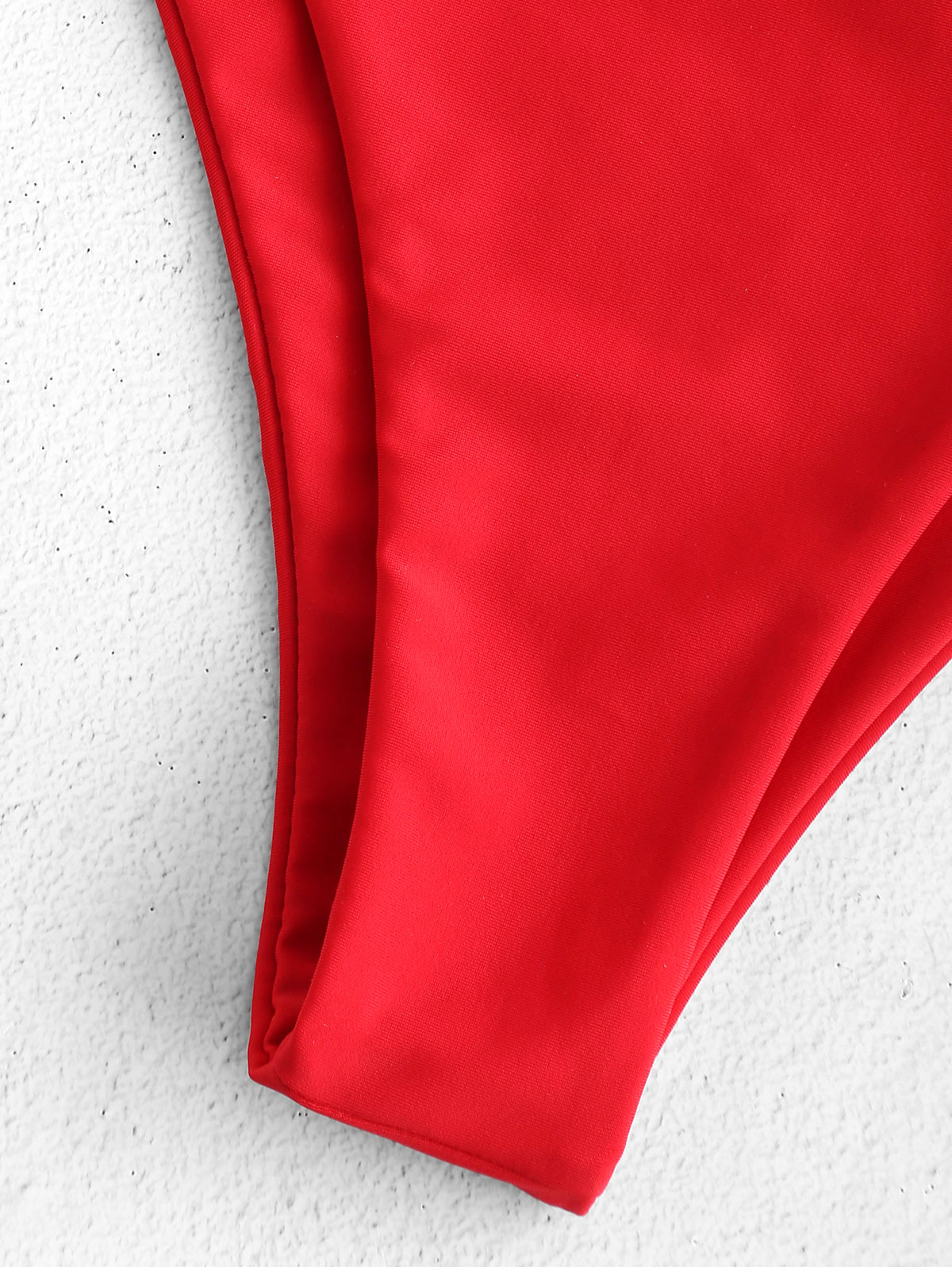 Frilled Smocked Bandeau Bikini 5