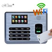 ZK TX628 посещаемость времени отпечатков пальцев с 125 кГц RFID считыватель карт TCP/IP USB wifi биометрическая запись времени наниматель посещаемость