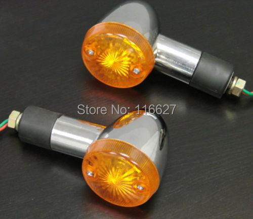 4pcs LED Turn Signals Light For Kawasaki Vulcan Classic Custom 2000 800 900 700