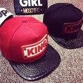 2016 New men brim straight rap gorras women hip hop cap male snapback baseball cap female trucker hat last king cap chapeau sale
