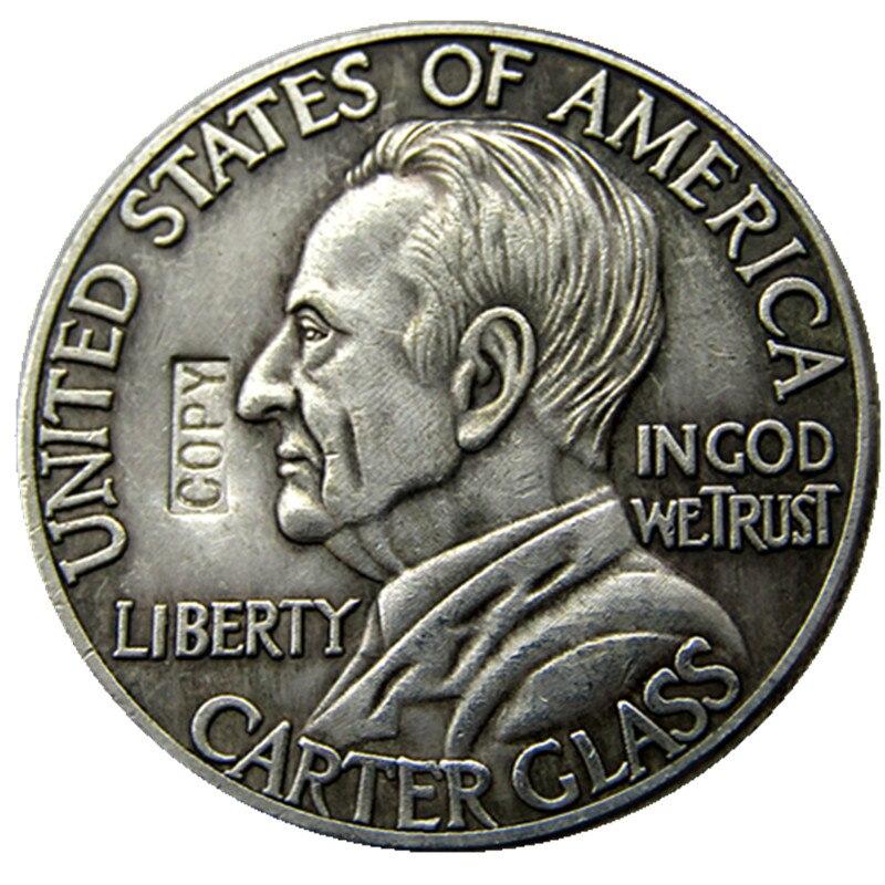 Ornamente Nichtwährungs-münzen 1936 Lynchburg Gedenk Halb Dollar Silber Überzogene Kopie Münze Exquisite Handwerkskunst;