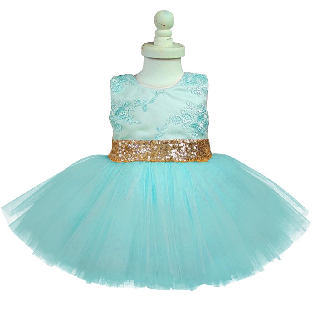 Aliexpress.com : Buy Ai Meng Baby Girl Party Dress Lace Flower Girl ...