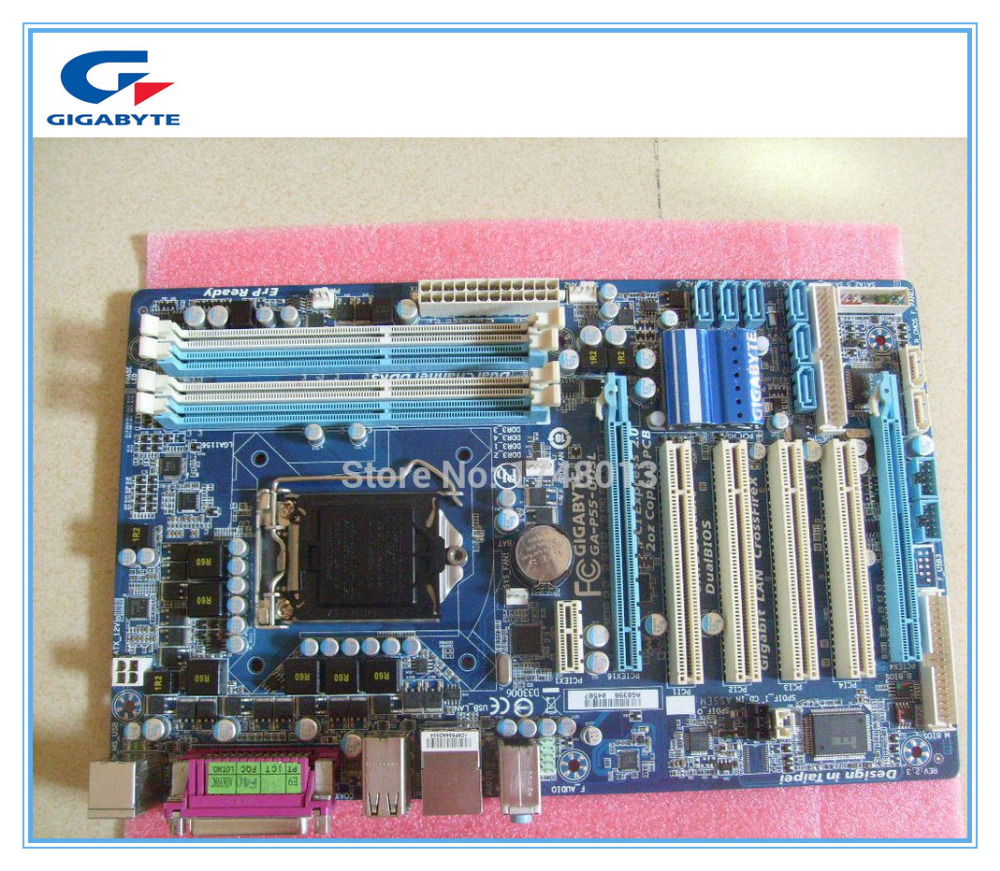 Gigabyte GA-P55-UD3L  original motherboard DDR3 LGA1156 boards for I3 I5 I7 CPU P55-UD3L Desktop motherboard Free shipping gigabyte ga p55 ud3l original motherboard ddr3 lga1156 boards for i3 i5 i7 cpu p55 ud3l desktop motherboard free shipping