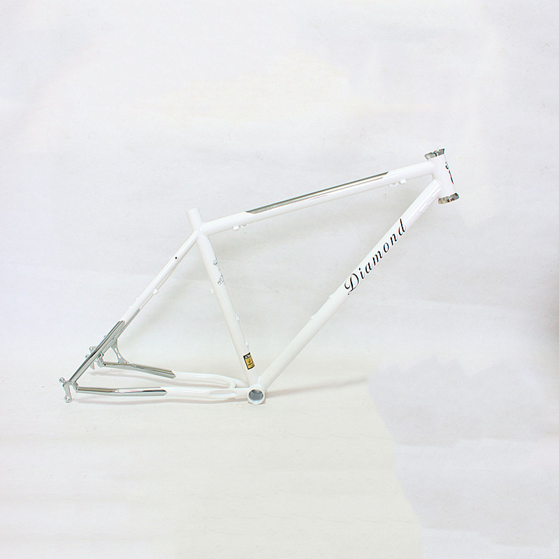 Reynolds 525 steel MTB Bike frame 26 inch DIY mountain bike frame touring bicycle frame 17.5 inch 4130 Chrome molybdenum steel diy carbon steel oval frame cutting dies