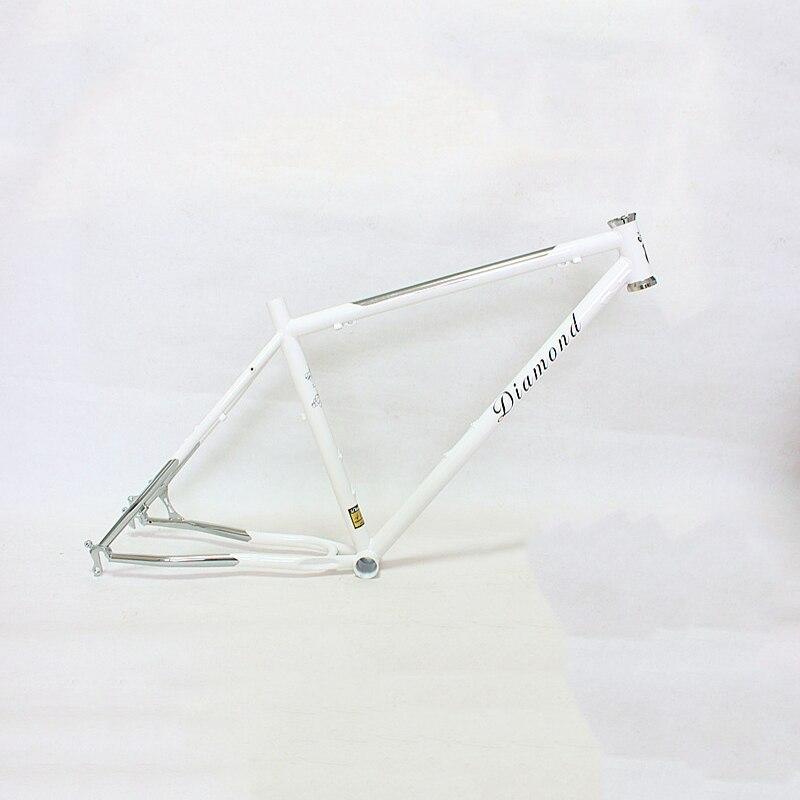 Reynolds 525 steel MTB Bike frame 26 inch DIY mountain bike frame touring bicycle frame 17.5 inch 4130 Chrome molybdenum steel