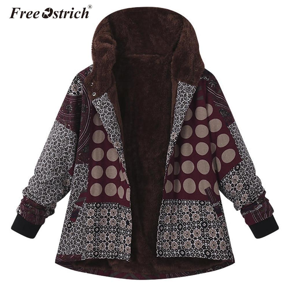 Freier Ostrich jacke mantel frauen herbst winter warm dicken teddy mantel weibliche casual mantel übergroßen oberbekleidung grundlegende tops N30