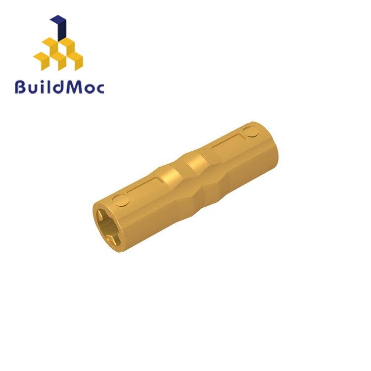 BuildMOC Compatible Assembles Particles 18948 1x3 For Building Blocks Parts DIY LOGO Educational Tech Parts Toys