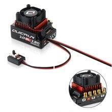 цена на Original Hobbwing QUICRUN 10BL120 Sensored 120A / 10BL60 Sensored Brushless ESC Speed Controller For 1/10 1/12 RC Mini Car