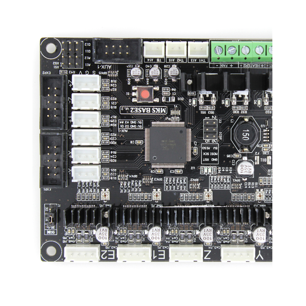3D Motherboards smart controller panel MKS BASE2 V1.2 marlin card 3d components diy electronic board print mainboard protoboard