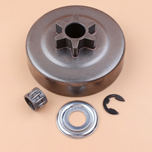 3/8 6T CLUTCH DRUM Washer E-Clip FIT ST 017 018 021 023 025 MS170 MS180 MS210 MS230 MS250 Chainsaw 1123 640 2003 цена в Москве и Питере