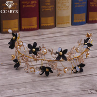CC Jewelry Crowns Tiaras Handmade For Bridal Hair Accessories Hairbands Coroa Beads Wedding Decorations Jewellry Bride