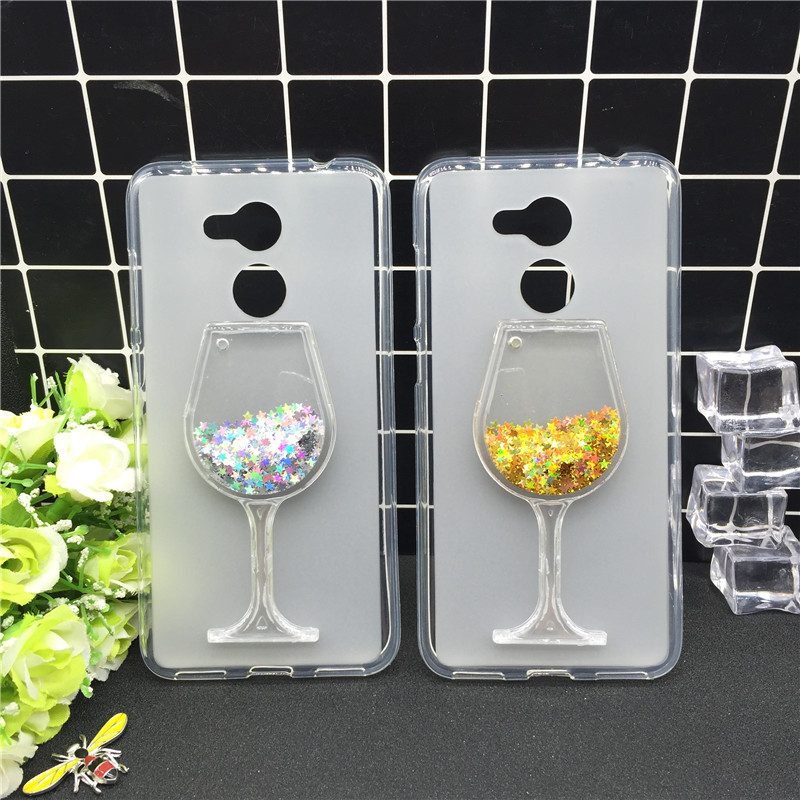 Fitted Cases Competent Bling Glitter Tpu Soft Silicone Wine Glass Cup For Huawei Honor 6a Dynamic Liquid Quicksand Star Case Cover 1pcs
