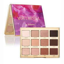 Brand Makeup Mostarsea 12 colors eyeshadow palette Maquiagem paleta de sombra de olhos smoky eyes kit cosmetic beauty