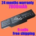 9 Cells 7800mAh Laptop battery for ASUS A32-K72 N71 N71J N71JA N71JQ N71JV N71V N71VG A32-N71 70-NX01B1000Z 70-NXH1B1000Z