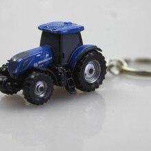 UH 1: 87 New Holland T7 225 Тип 2 Бутик брелок для автомобильных ключей, игрушки для детей, модель детской игрушки цепочка для ключей оптом