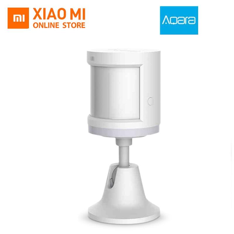 100 Xiaomi Aqara Human Body font b Sensor b font ZigBee Movement Motion Security Wireless Connection