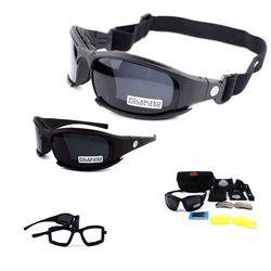 X7 偏光軍事サングラス戦術ゴーグルサングラス陸軍エアガンメガネ男性撮影眼鏡 UV400 ハイキングメガネ