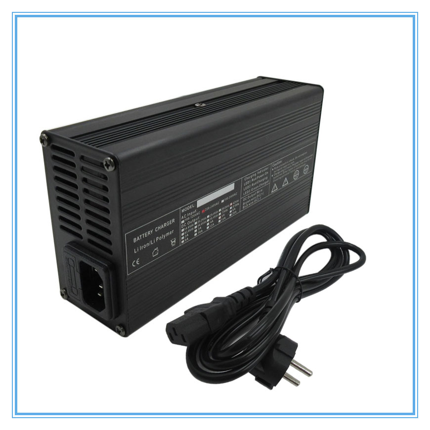Accessories & Parts Consumer Electronics 180w 12v 8a Lifepo4 Battery Charger 14.6v 8a Fast Charger With Aluminum Case Use For 4s 12v 30a 40a 50a 100a Battery Pack