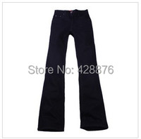 Autumn Men S Clothing Male Boot Cut Mid Waist Plus Size Elastic Slim All Match Bell