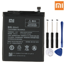 Xiao Mi Original BN41 Battery For Xiaomi Redmi Note 4 Hongmi Note4 Pro 4X Genuine Replacement Phone 4100mAh + Tools