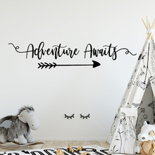 Creative adventure awaits Wall Stickers Modern Fashion Sticker Living Room Children Home Decoration