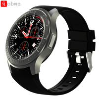 Android Smart Watch DM368 Wifi 3G Smartwatch Bluetooth GPS Pedometer Heart Rate Tracker Answer Dial Call 1.39 AMOLED Display