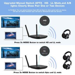 Image 4 - 80M Long Range 3 In1 Bluetooth 5.0 Audio ontvanger Zender Aptx Ll/Hd Voor Tv Auto Pc Rca 3.5Mm Jack Aux Spdif Draadloze Adapter