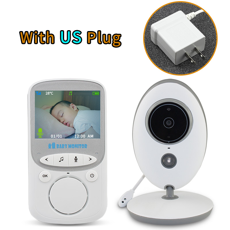 15562aac8c0 TakTark 2.4 inch Wireless Video Baby Monitor Color Camera intercom Night  Vision Temperature Monitoring babysitter nanny-in Baby Monitors from  Security ...