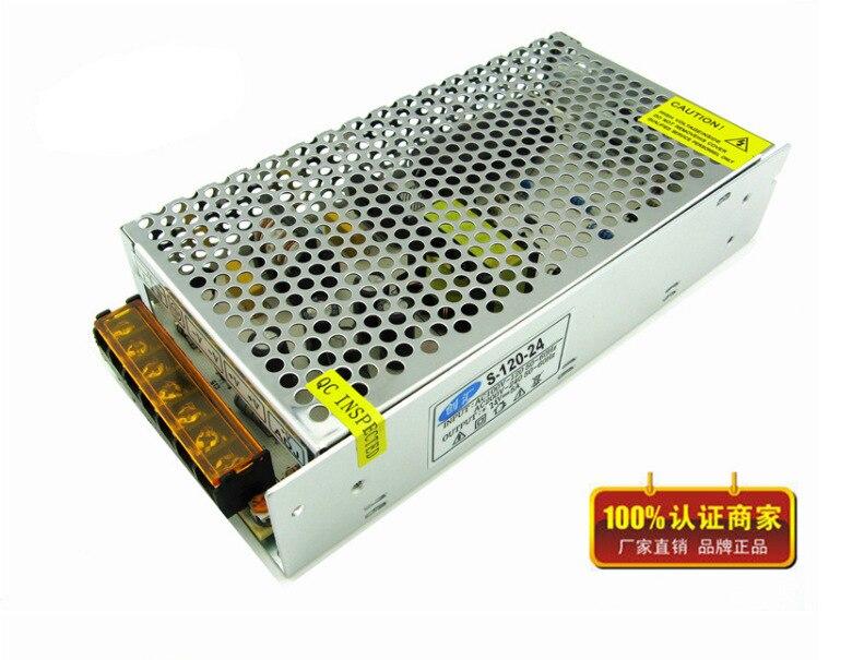 PWM AC / DC Switching 24V 5A 120W Switching Industrial Monitor Power Supply LED Driver Power AC 100 - 240V мультиметр uyigao ac dc ua18