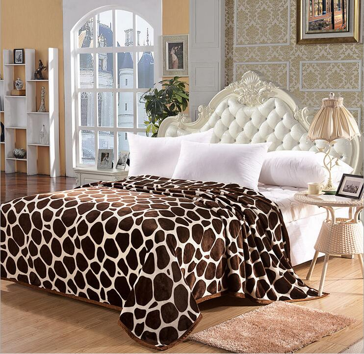Лидер продаж наиболее супер мягкий и теплый коралловый флис одеяло на кровати leopard одеяло элементы дизайна 4 размера