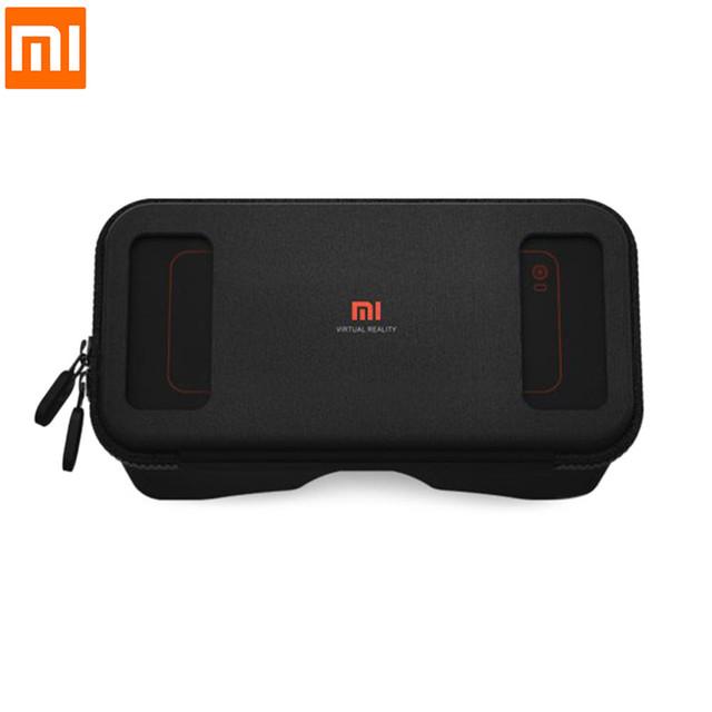 Xiaomi mi vr vr realidade virtual óculos 3d imersiva headset papelão com controlador de jogo para 4.7-5.7 polegadas smartphones