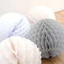 1pc 10cm Lace Snowball Honeycombs Party Decorations Zigzag  Edge Wedding Birthday Showers Tissue Paper Balls Decorative