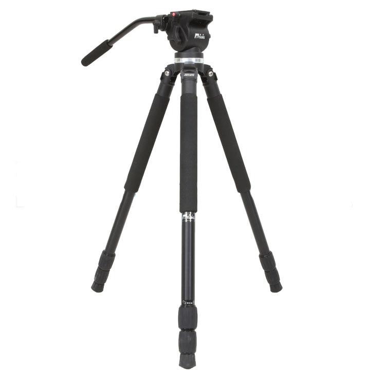 Jieyang statyw JY0509A JY 0509A profesjonalny aparat SLR hydrauliczne tłumienie ptak 65mm miska głowy w Statywy od Elektronika użytkowa na  Grupa 1