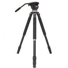 Jieyang tripod JY0509A professional camera SLR hydraulic damping bird 65mm bowl head