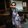 Women Silk Scarf Voile Floral Print Sunscreen Ladies Big Size Desigual Brand Shawls Scarves foulard bufandas mujer 2015 WJ027