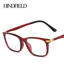 c554389a411 HINDFIELD Retro TR90 Eyeglasses Frame Women Spectacles Brand Design Clear  Lens Glasses Frame Vintage lunette de vue femme