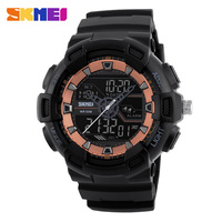 SKMEI 1189 Digital Dual Time Watch Men Multifunction Waterproof LED Military Sports Alarm Clock Casual Wristwatches