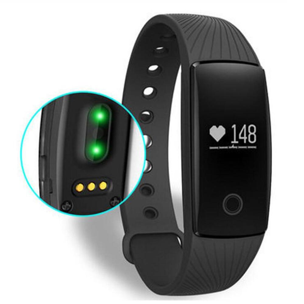 24 H Dynamische Herz Rate Smart Uhr Wasserdicht Männer Sport Uhren Sitzende Alarm Strap Tpe Fitness Armband Frauen Bluetooth Seien Sie In Geldangelegenheiten Schlau