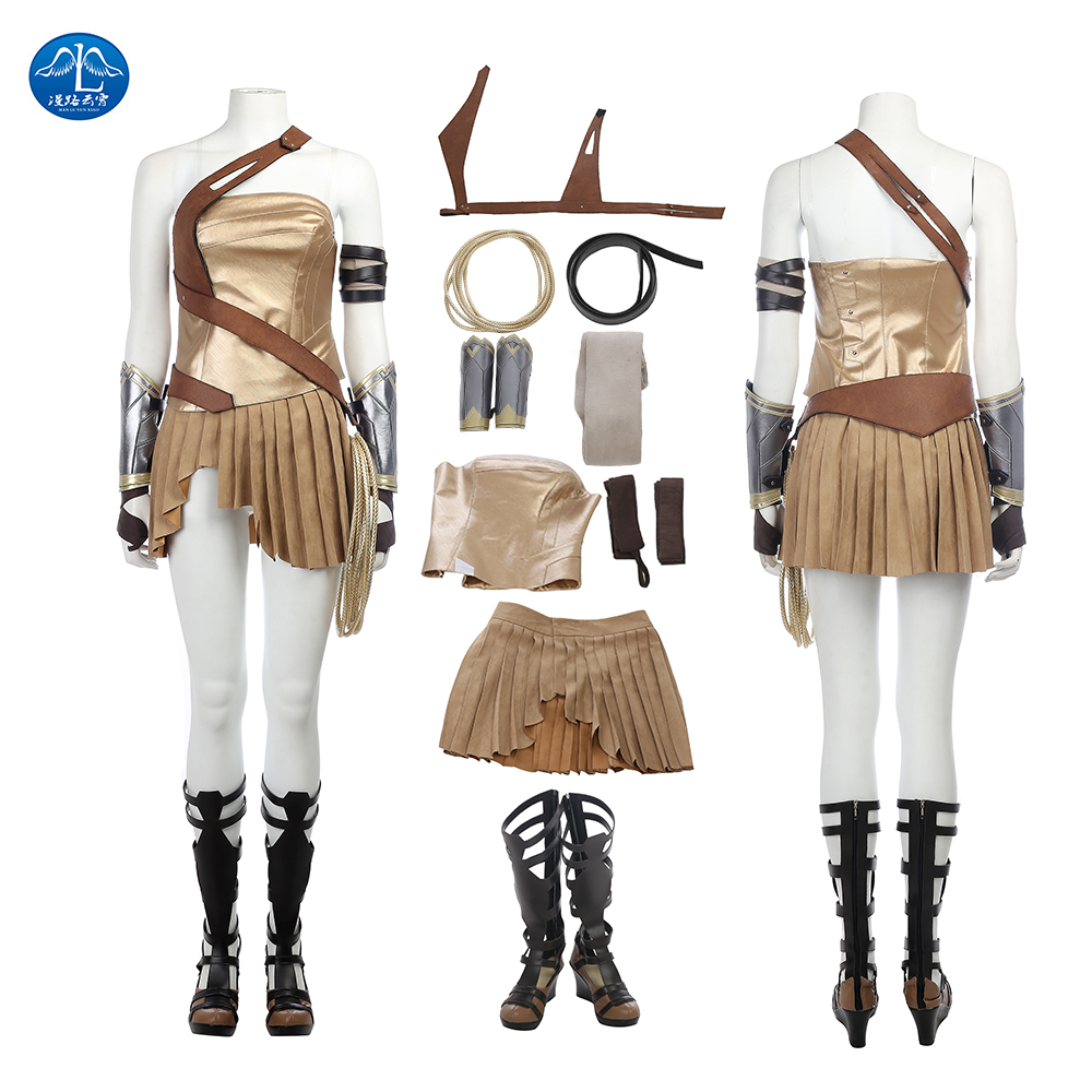 ManLuYunXiao Wonder Woman Diana Prince Cosplay Costume Adult Halloween Costumes For Women Wonder Woman Costume Custom Made