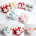 Lovely Baby Boys Girls Winter Warm Plush Slip-on Infant Soft Slipper Crib Shoes
