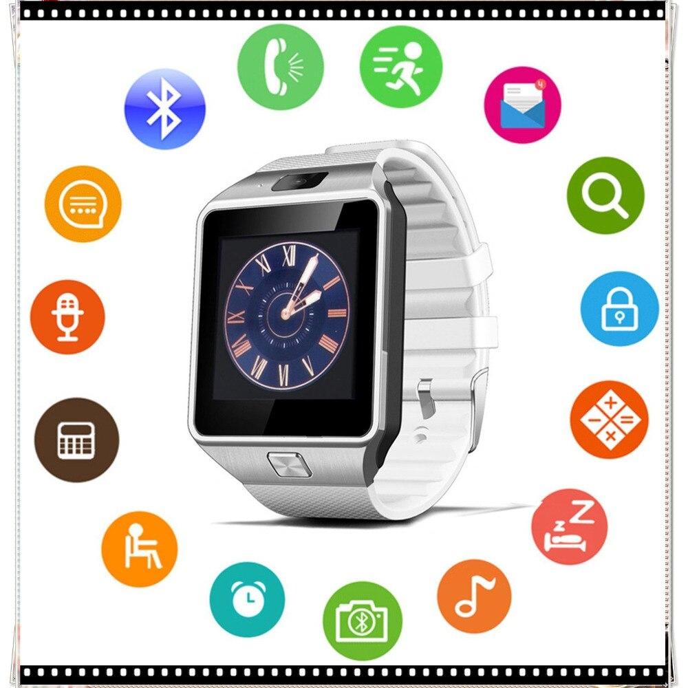 DZ09 Smartwatch Bluetooth Montre Smart Watch Dispositifs Portables Android Appel Téléphonique SIM TF Caméra pour IOS Apple iPhone Samsung HUAWEI USB