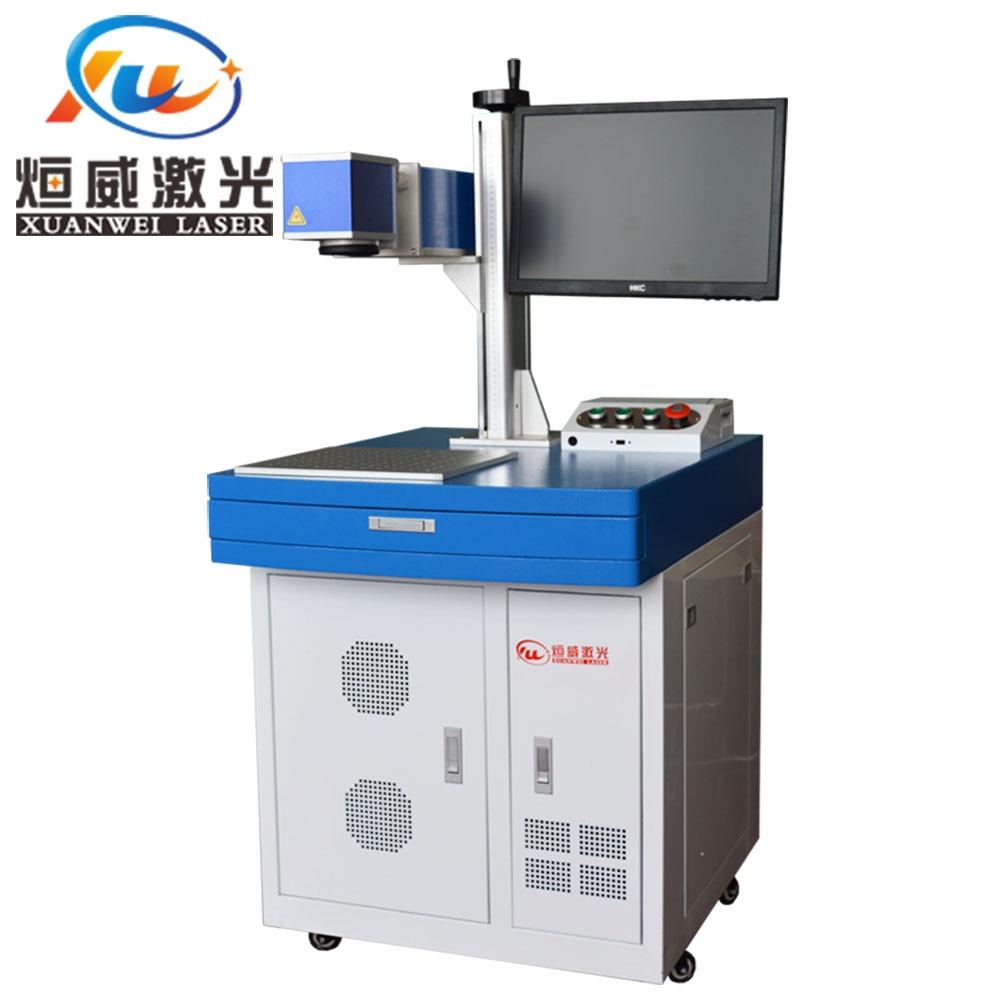 Machine de marquage Laser à Fiber métallique 30 W Machine de gravure Laser en métal en acier inoxydable